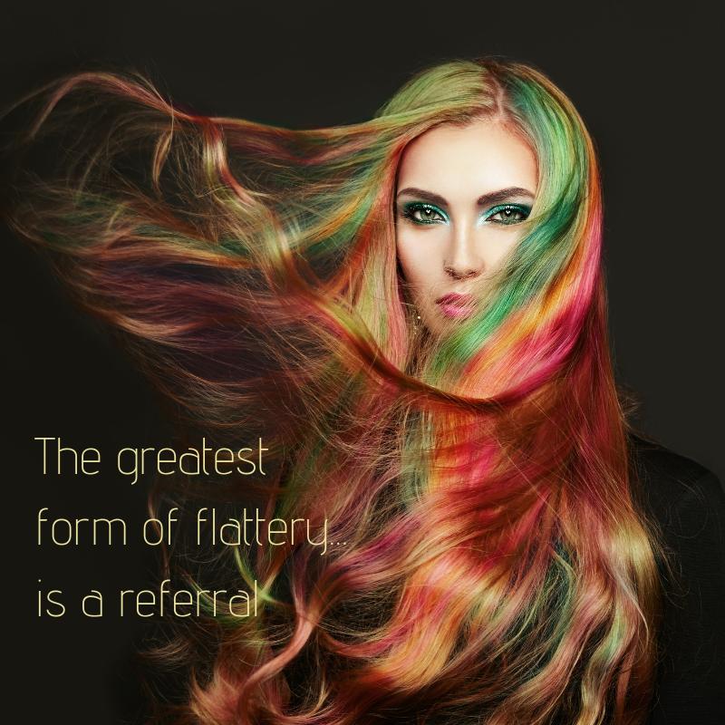 KG Hair Salon referral program